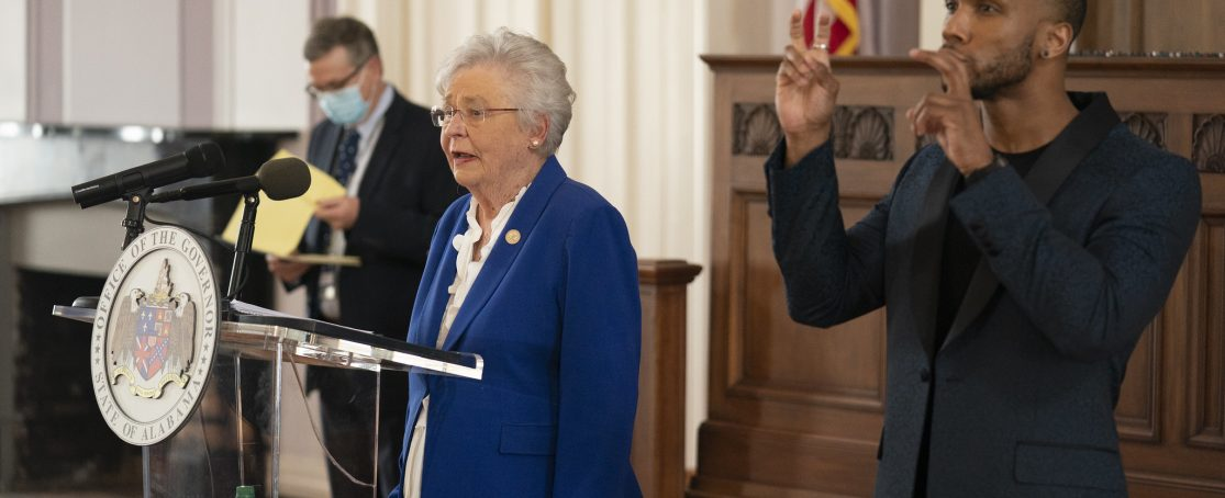 Governor Ivey Extends Safer at Home Order